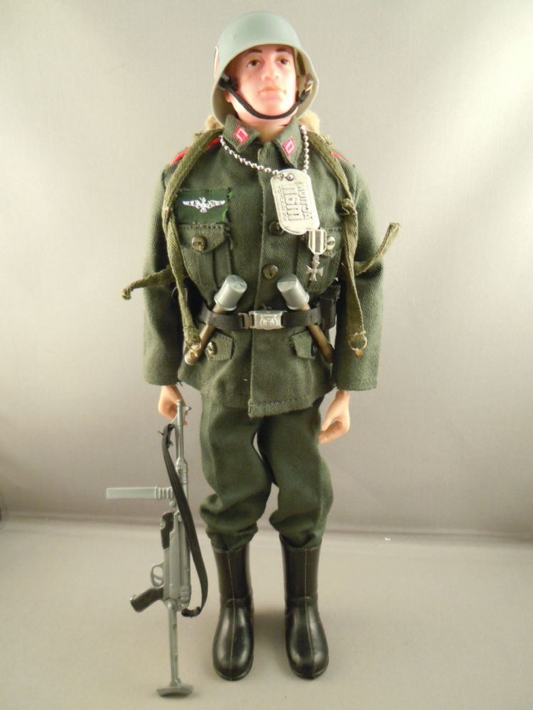 VINTAGE ACTION MAN - GERMAN STORMTROOPER Blonde Painted ...